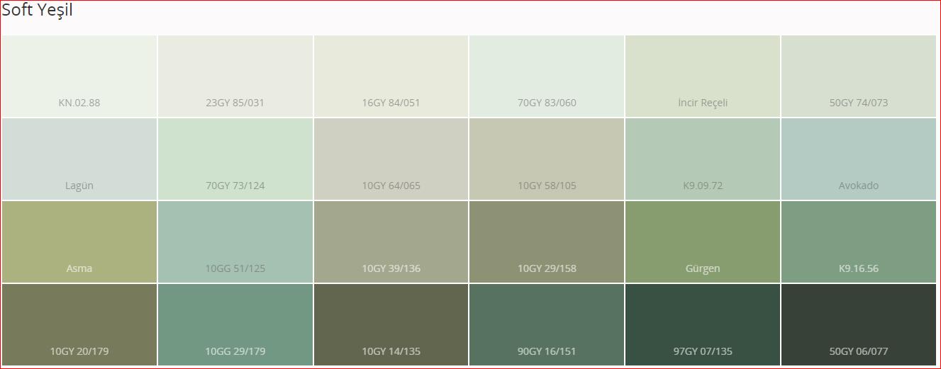 Marshall Renk Katalogu 2018 Iç Cephe Renk Kartelası 4 Usta 1