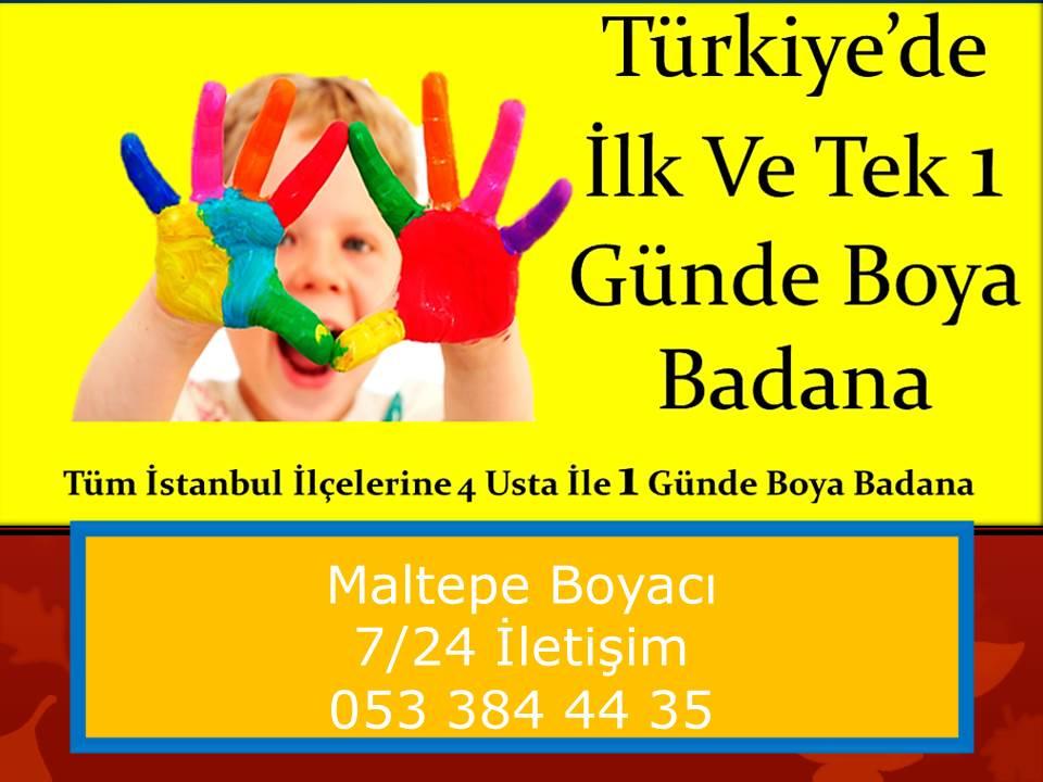 Maltepe Boyaci Ustasi 4 Usta 1 Gunde Boya 0533 384 44 35